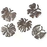 Cheap it's cactus – metal art haiti Garden Butterflies, Haitian Metal Art, Recycled Oil Drums, (set of 5) 6″ x 6″