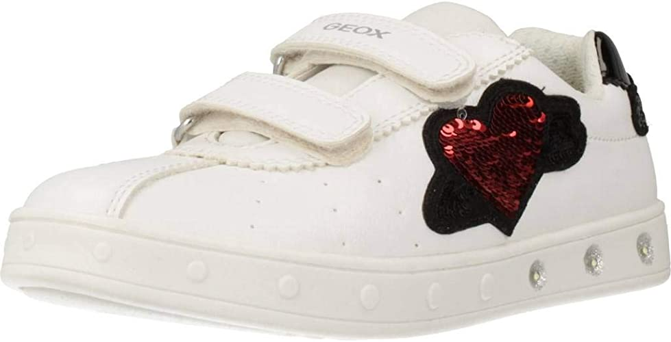 Geox Girls' J Skylin C Low-Top Sneakers