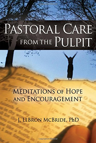 Pastoral Care from the Pulpit: Meditations of Hope and Encouragement (Haworth Series in Chaplaincy)