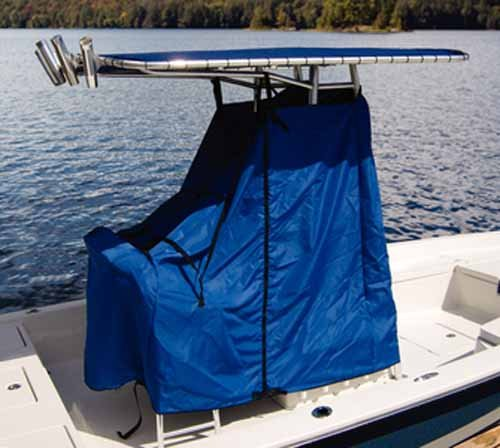 Taylor Made Products 67852OB Universal T-Top Center Console Cover, Blue, 48 x 60 x 66 Inch, Trailerable