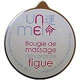 unmei - bougie de massage dévorante (figue) - 150 gr