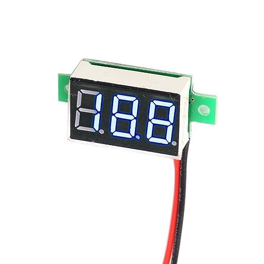 6 opinioni per Balai 0.36Inch 2.5–30V LED no Power Supply Needed Mini Digital Voltmetro
