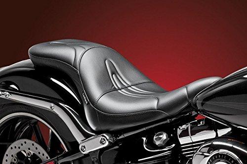 - 14-17 Harley FXSB2: Le Pera Sorrento Seat (Standard) (Black)