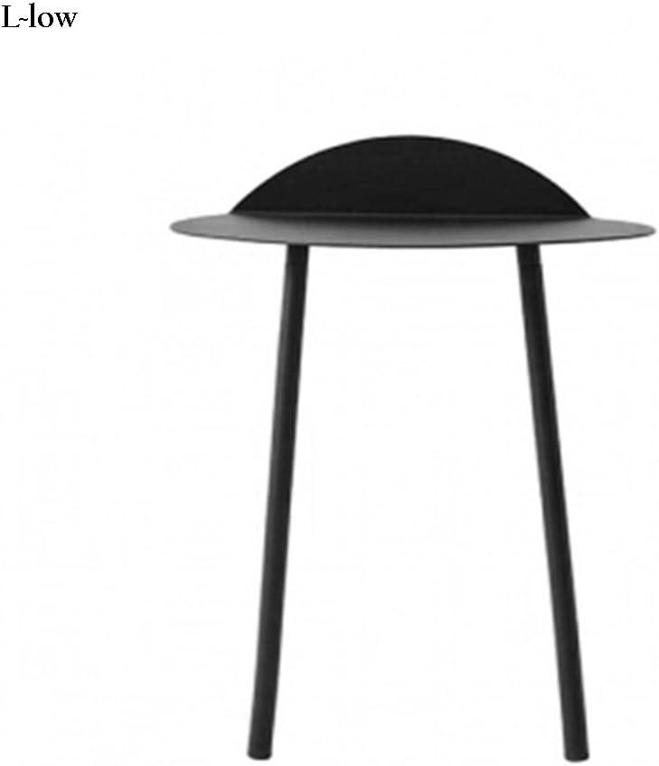 XIA contra la Pared Mesa Cómoda y práctica Sala de Estar Mesa Simple (Color : Negro, Tamaño : S~Low): Amazon.es: Hogar