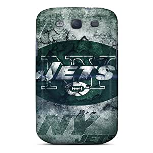 Galaxy S3 Case Cover Skin : Premium High Quality New York Jets Case