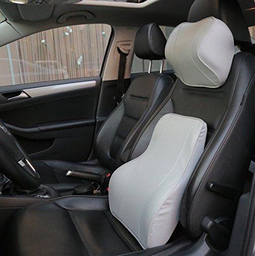 Love Home Memory Foam Car Lumbar Cushion Amp Car Neck Pillow