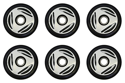 Ski Doo Idler Wheel (PDD Front & Mid Rail Gray Idler Wheels Kit for Snowmobile BOMBARDIER/SKI-DOO MX Z 500 Trail SS 2004-2005)