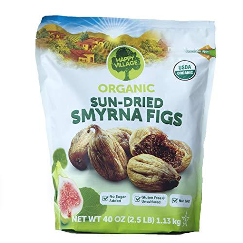 Happy Village Organic Sun-Dried Smyrna Figs