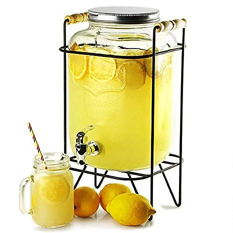 ... función atril 8ltr - caso de 2 | Bar @ Drinkstuff Beverage Dispenser, Mason tarro dispensador de bebidas, dispensador de zumo, dispensador de cóctel, ...