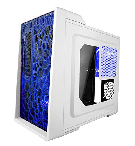 APEVIA-X-ENERQ-WHT-Micro-ATX-Mini-ATX-HTPC-Computer-Case-with-Clear-Window-White