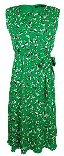 LAUREN RALPH LAUREN Women's Georgette Sleeveless Dress-GM-12
