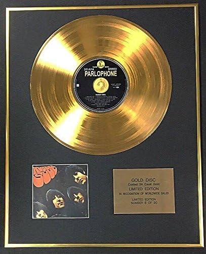/Rubber Soul //Édition limit/ée exclusive disque dor 24/carats/ Century Music Awards The Beatles/