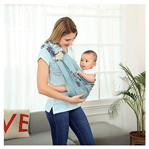 Baby Sling Carrier Baby Wrap by TIANER , Natural Cotton wrap Sling for baby , Infants, Soft Nursing Cover for Newborns ,5 colours by TIANER