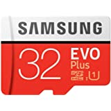 Memory Card Samsung EVO Plus 32GB microSD Memory Card UHS-I U1 95MB/s with Adapter, (MB-MC32GA/APC)