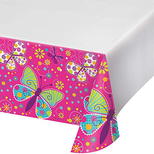 Butterfly Plastic Tablecloths, 3 ct]()