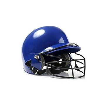 StageOnline Baseball Helme, Casco de béisbol binaural con 2 Protectores auditivos y máscara Protectora, Casco ABS con para Adultos y jóvenes: Amazon.es: ...