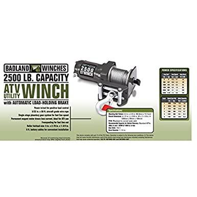 2500 lb. Electric ATV/Utility Winch with Wireless Remote Control Harbor Freight Atv Winch Wiring Diagram on