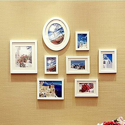 Regalos de Navidad Halloween (8 marcos para fotos) europeo Classic Marco Fotos pared Creative