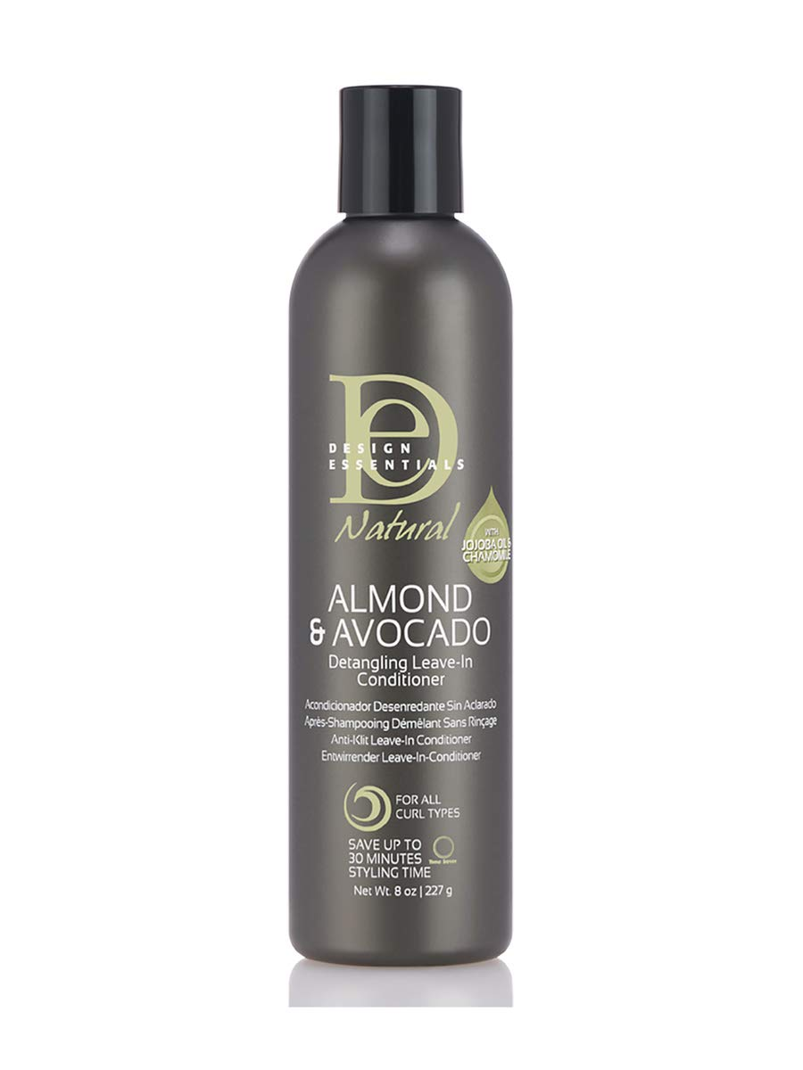 Natural Moisturizing & Super Detangling Sulfate-Free Conditioner with Natural Shea Butter and Coconut Milk-Almond & Avocado Collection by Design Essentials