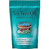 Tea Tree Oil Foot Soak With Epsom Salt, Helps Treat Nail Fungus , Athletes Foot & Stubborn Foot Odor 16oz