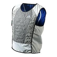 TechNiche International Ultra Evaporative Cooling Sport Vest, Large, Silver