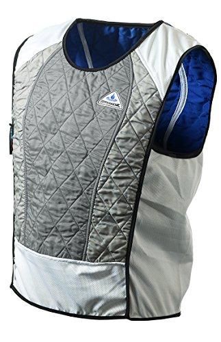 TechNiche International Ultra Evaporative Cooling Sport Vest, X-Small, Silver
