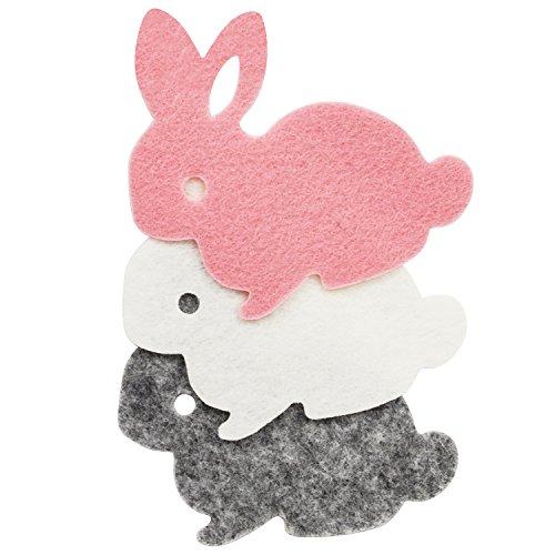 サンヒット ワッペンフェルト 小 ウサギ WF-007