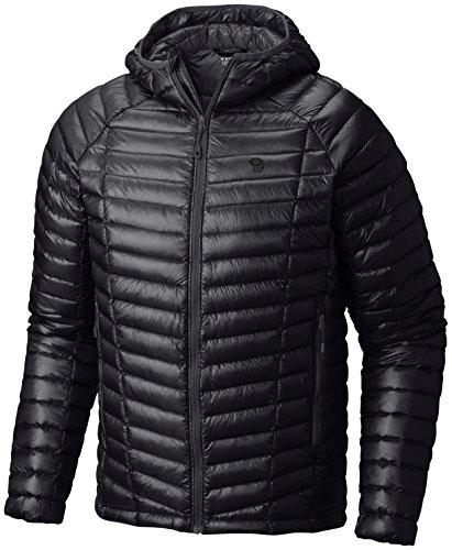 Mountain Hardwear Ghost Whisperer Down Hooded Jacket - Men's Black - Mountain Ghost Hardwear Mens