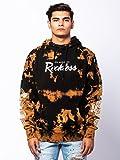 Young & Reckless - OG Vista Hoodie - Black Bleach - - Mens - Tops - Hoodies -