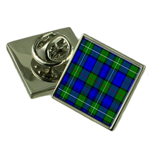 Tartan Clan Mackenzie Lapel Pin Badge