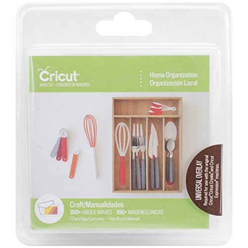 Cricut 2002653 Home Organization Cartridge