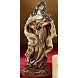 Saint Theresa the Little Flower of Jesus Resin Statue Figurine, 6 Inch