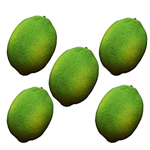 Lorigun Artificial Lemon for Decoration, Artificial Fruits 98