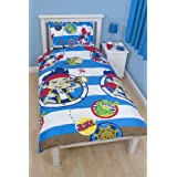 Disney Jake & The Neverland Pirates 'Doubloon' Reversible Duvet Set - Single - Disney Jake & The Neverland Pirates 'Doubloon' Reversible Duvet Set - Single