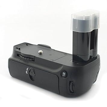 Meike MEIKEBGNIKOND90 - Empuñadura para cámaras digitales Nikon D80 y D90, negro