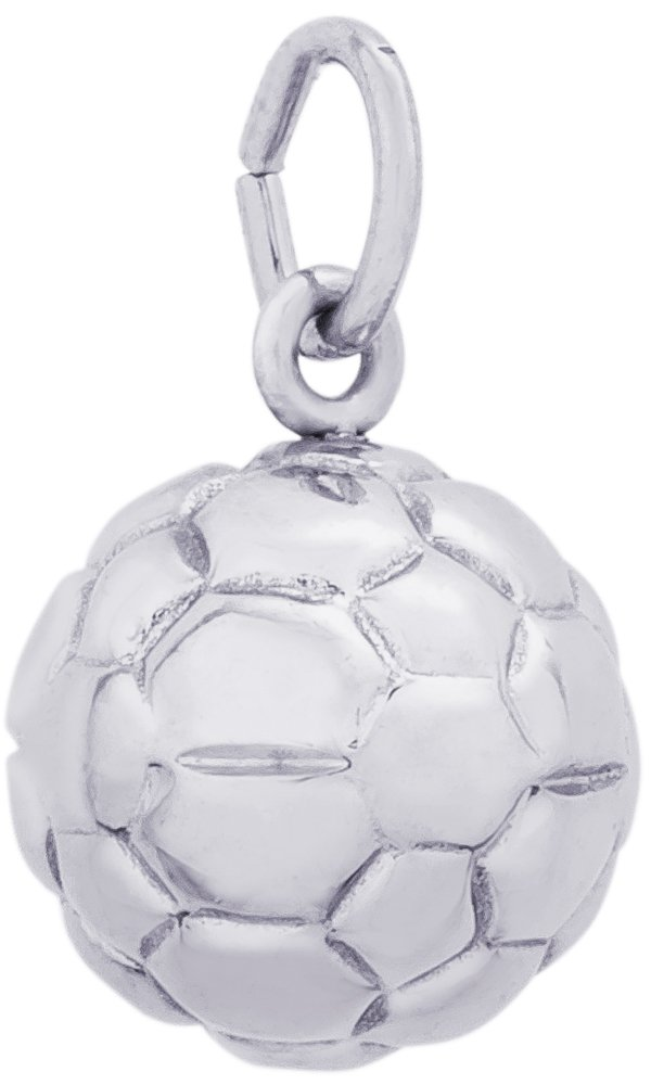Rembrandt Charms, Soccer Ball, 14k White Gold