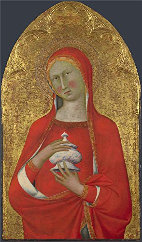 The Polyster Canvas Of Oil Painting 'Master Of The Palazzo Venezia Madonna Saint Mary Magdalene ' ,size: 10 X 17 Inch / 25 X 43 Cm ,this Replica Art DecorativePrints - Venezia Sunglasses