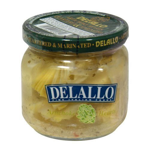 Delallo Marinated Artichoke Heart, 6 Ounce -- 12 per case. by DeLallo ()