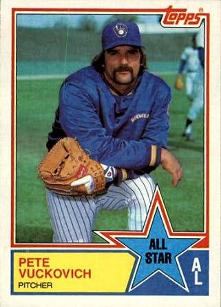 Amazoncom 1983 Topps Baseball Card 394 Pete Vuckovich