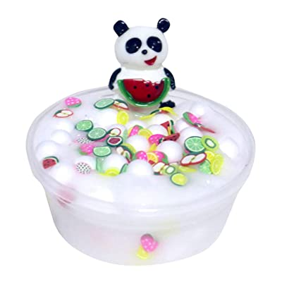 callm Panda Beads Slime Clay Sludge Toy Kids Adult Stress Relief Plasticin Toys Gift - 60ml: Sports & Outdoors