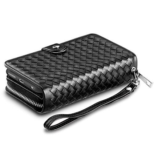 iPhone 6S Plus Case, Vofolen [Zipper Wallet] iPhone 6 Plus Cover PU...