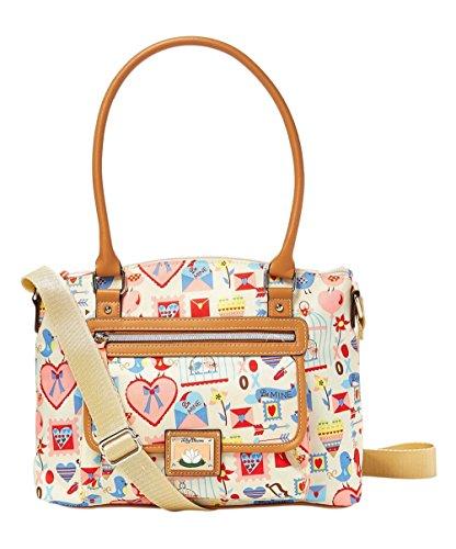 Lily Bloom Valentine Hearts Michelle Satchel Handbag