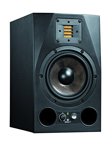 Adam Audio Studio Monitors + Foam Pads + Monitor Stands + XLR Cables Bundle A7X
