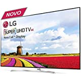 "Smart TV 65"" LG Super Ultra HD 4K 65SJ9500 HDR Ativo Wi-Fi webOS 3.5 Bluetooth 4 HDMI 3 USB"
