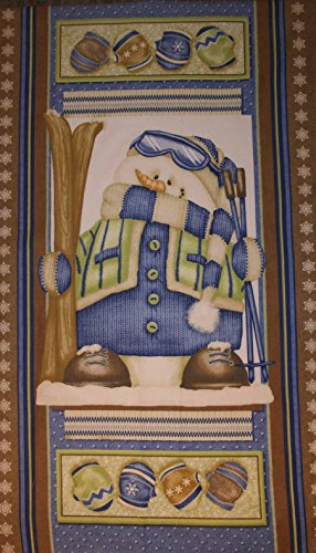 Snowman Panel - 7