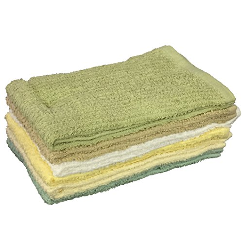 Pack Of 6 Super Soft Ribbed Bar Mop Kitchen Towel Size : 16