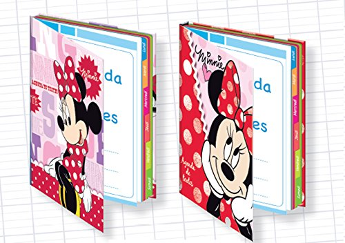 1 Agenda de textes DYSNEY MINNIE - 16x22cm - 2 Visuels disponibles ALPA MIA04001
