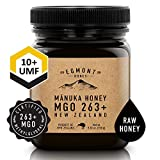 EGMONT HONEY 8.8oz UMF 10+ 100% Natural Non-GMO Ethically Sourced Superior Flavour Manuka Honey Superfood from Sustainable Bee Hives in the Remote Manuka Forests of New Zealand