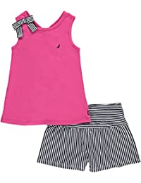 Nautica Girls' Top with Back Detail and Fashion Knit...