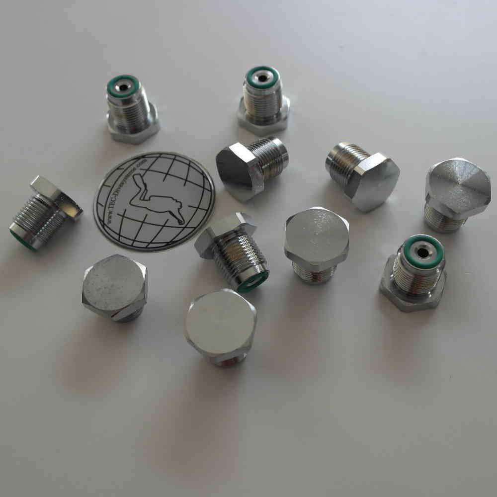 Scubatec - Vite cieca 300 bar (protezione valvola) per DIN valvola G 5/8